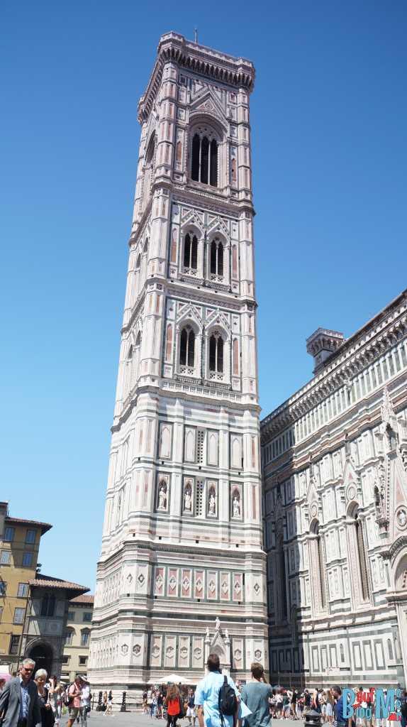 Turm der Kathedrale St. Maria del Fiore von Florenz