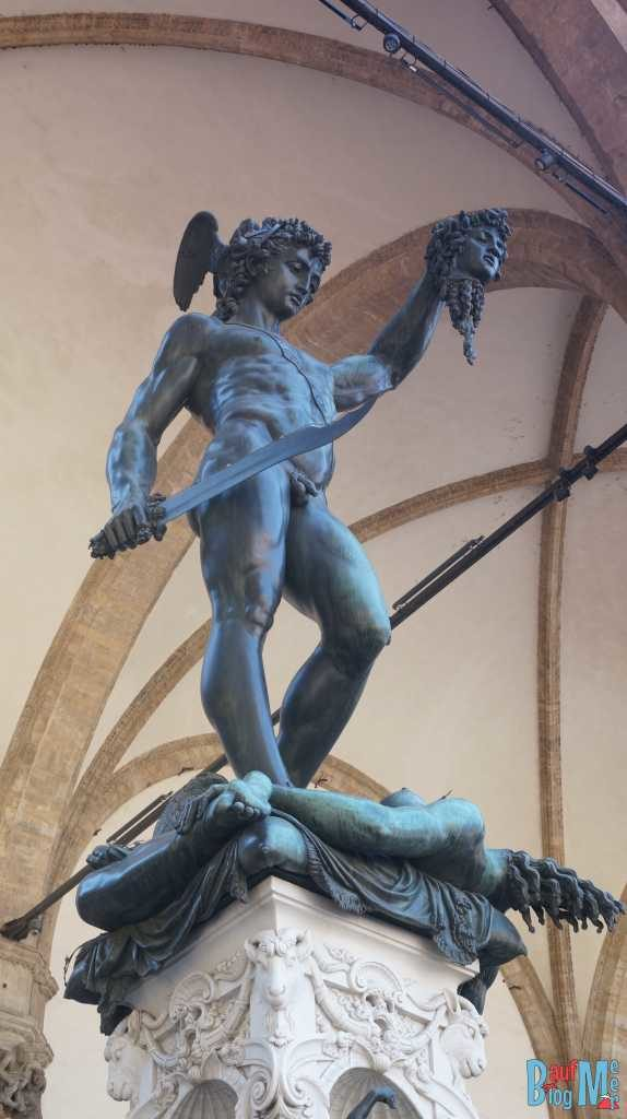 Perseus mit Medusakopf