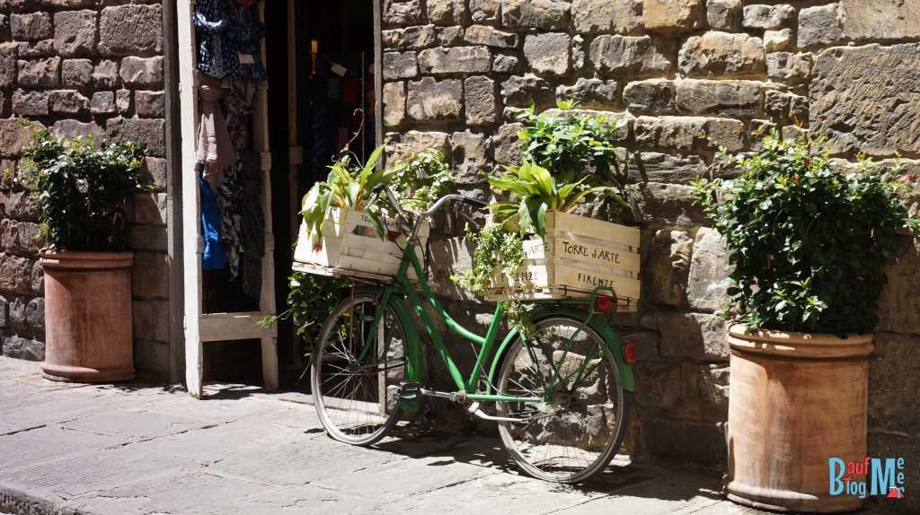Seitengässchen in Florenz