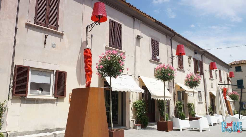 Lajatico ein eher untouristischer Ort der Toskana