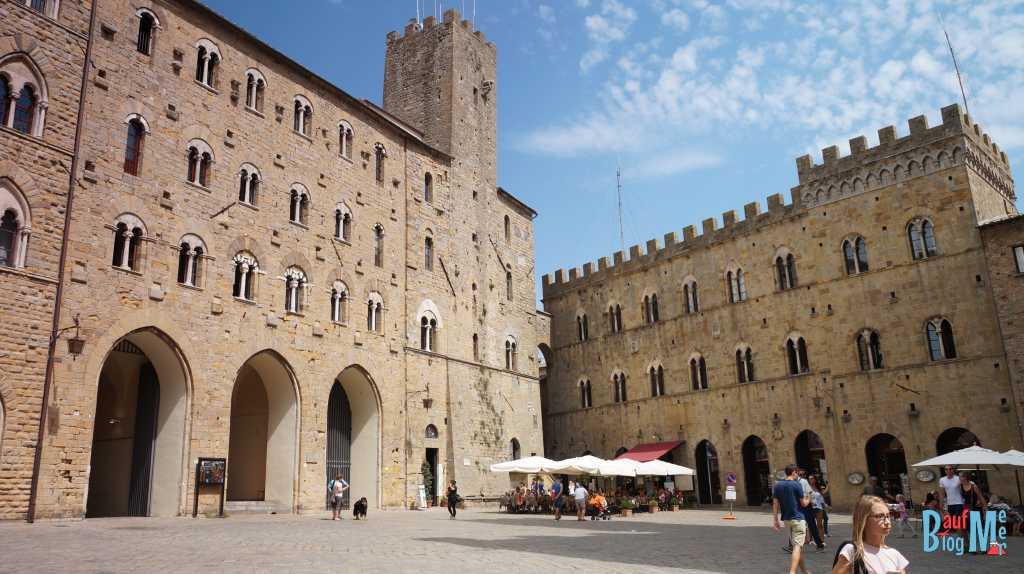 Hauptplatz von Volterra