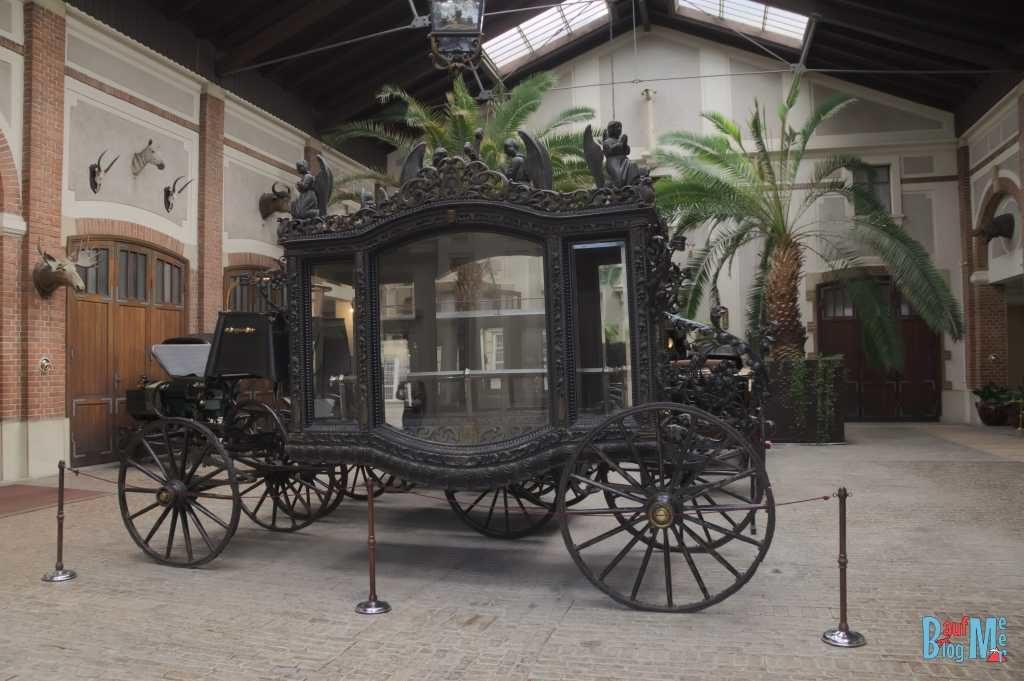 Kutschenausstellung beim Pałac w Łancucie