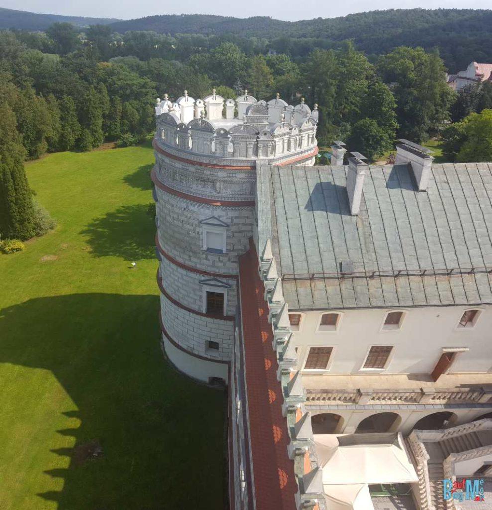 Päpstliche Bastei der Burg Krasiczyn