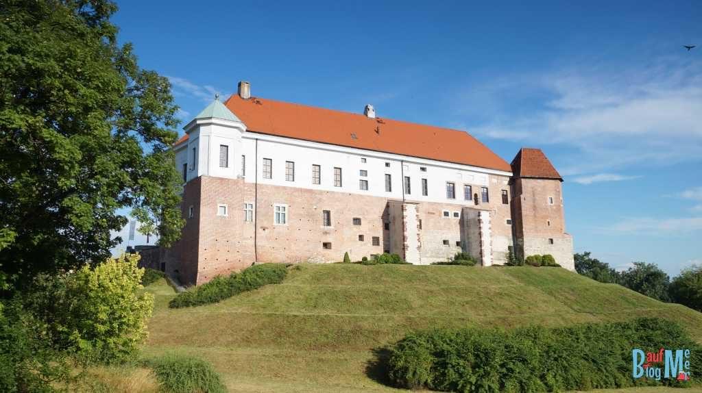 Burg in Sandomierz im Osten Polens