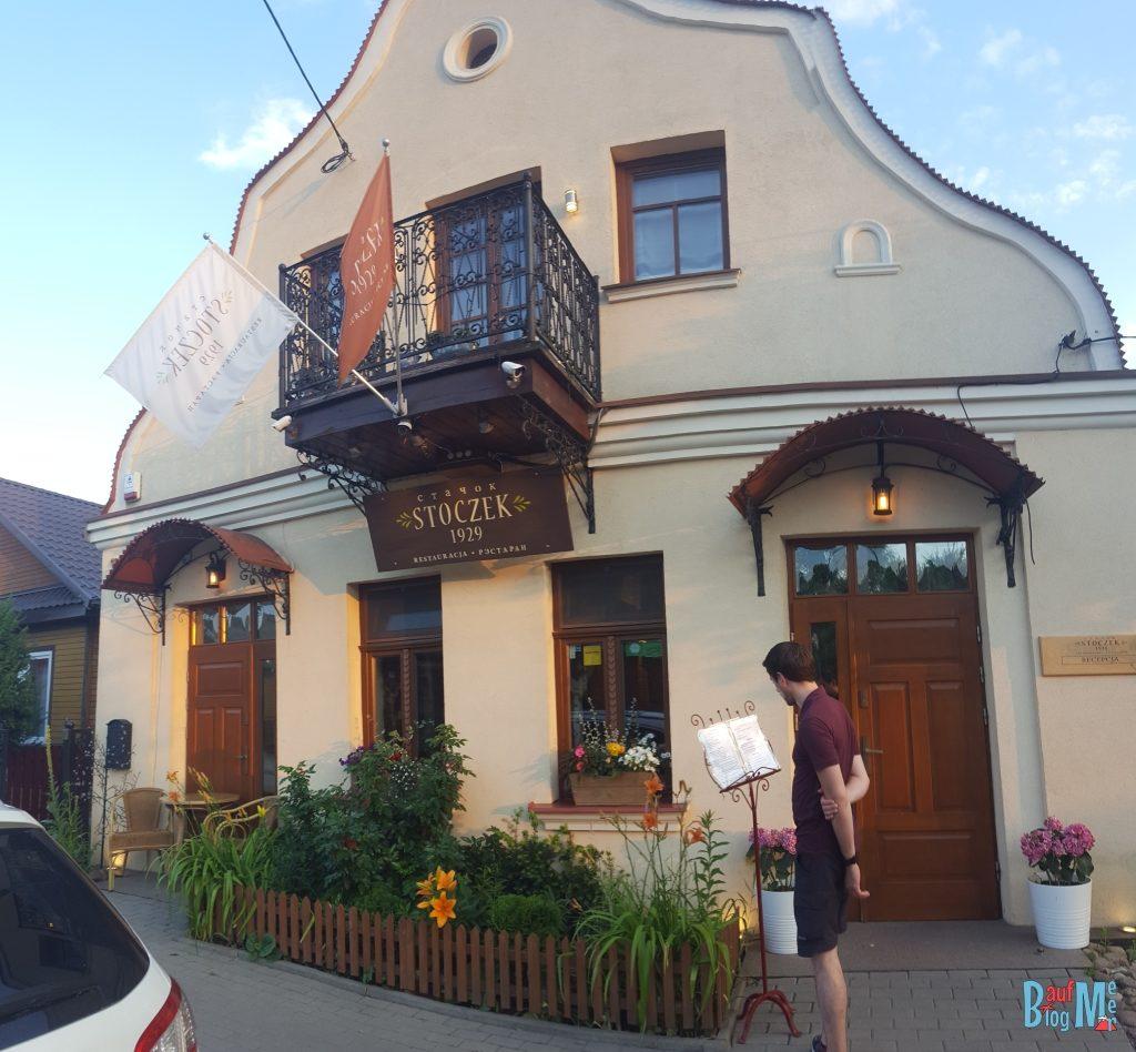 Unser Nachtquartier in Białowieża