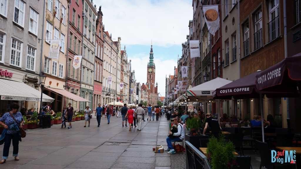 Stadtzentrum von Danzig