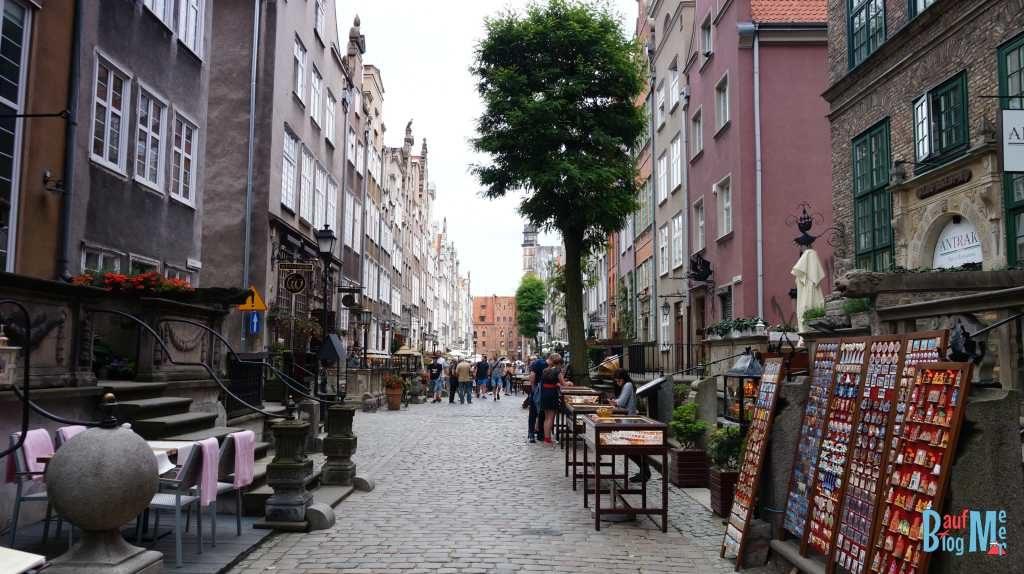 Kleine Strasse in Danzig