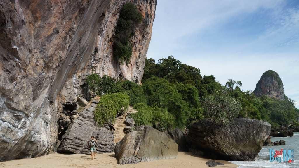 Weg vom Tonsai Beach zu Rai Leh West