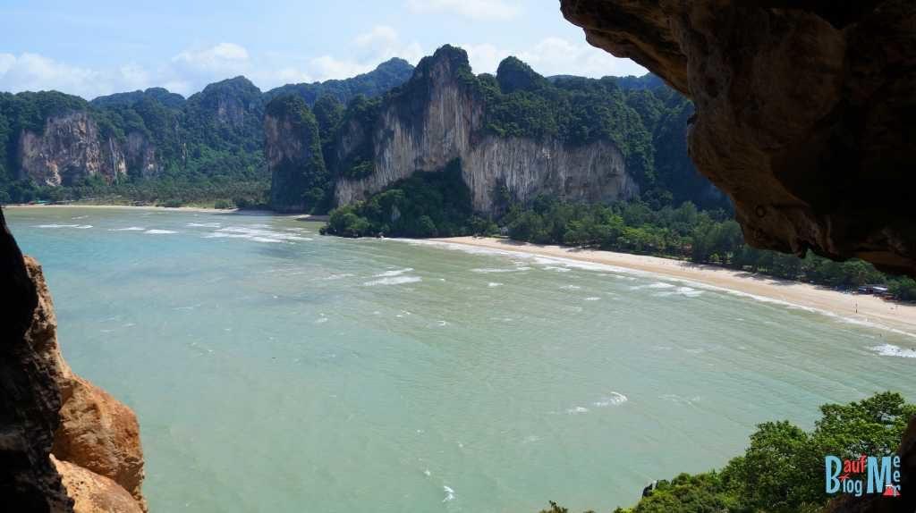 Blick auf Tonsai und Rai Leh West von einem der Viewpoints