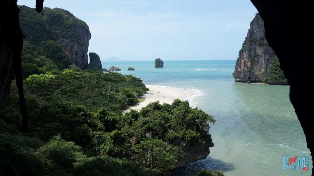 Blick auf Phra Nang Beach