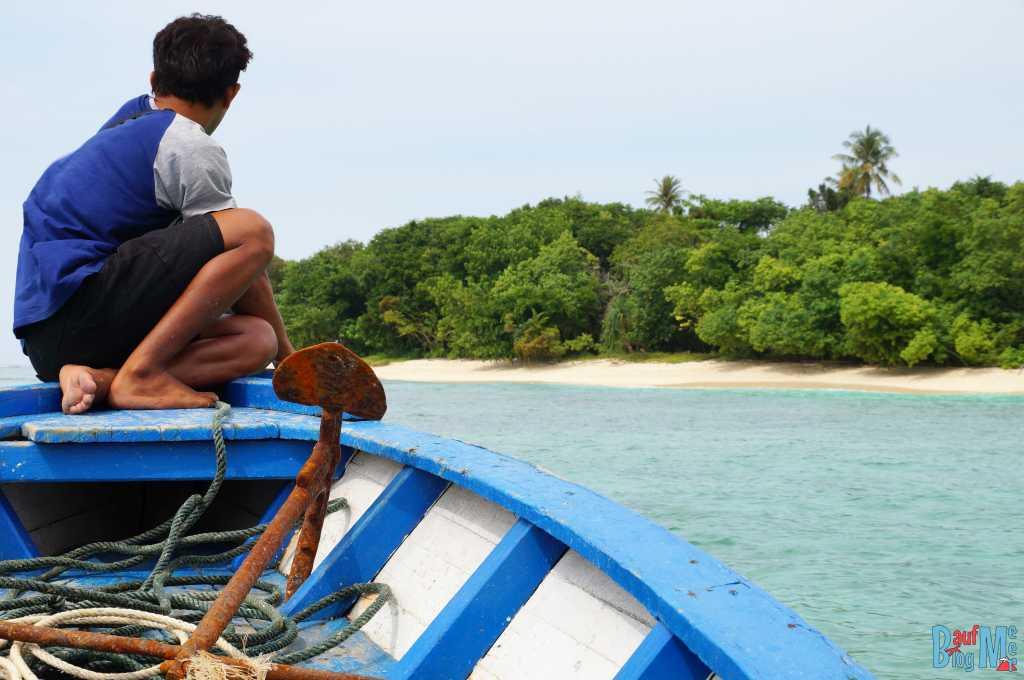 Angekommen auf der Insel Merak