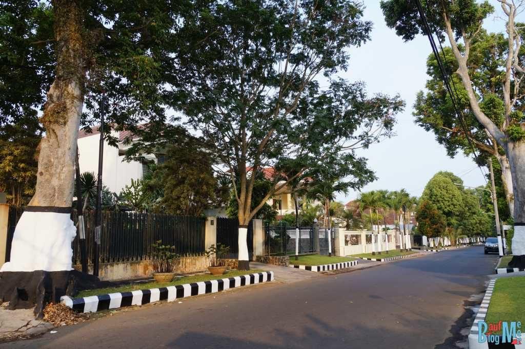 Ruhige Straßen in Malang