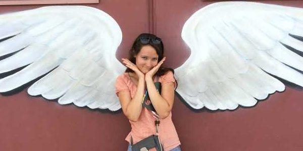 Engel auf dem KL Tower