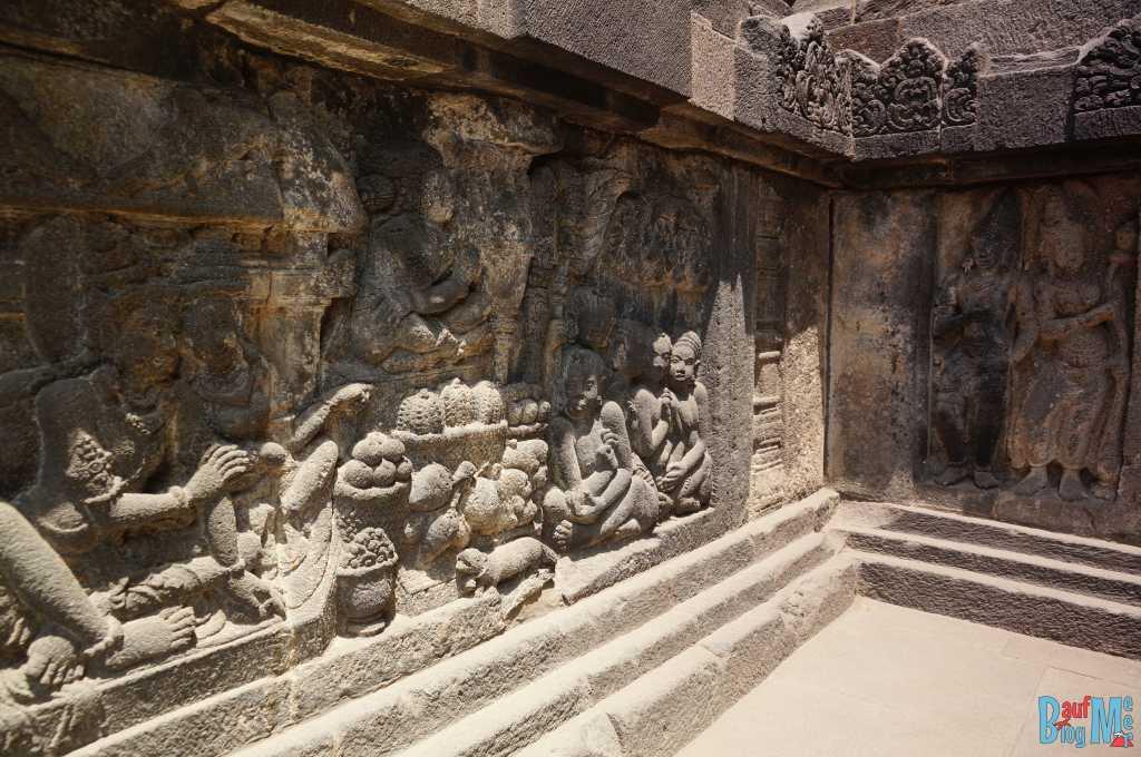 Ramayana Reliefs Prambanan Tempel