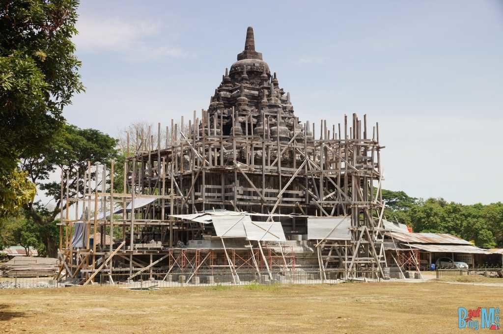 Bubrah Tempel in Restauration