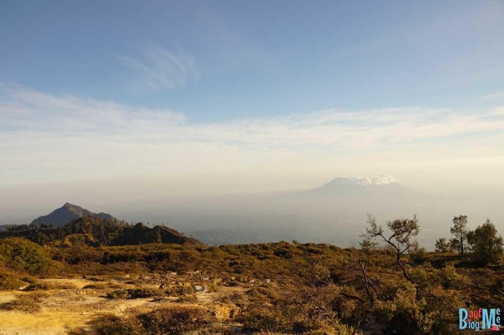 Aussicht vom Ijen Krater