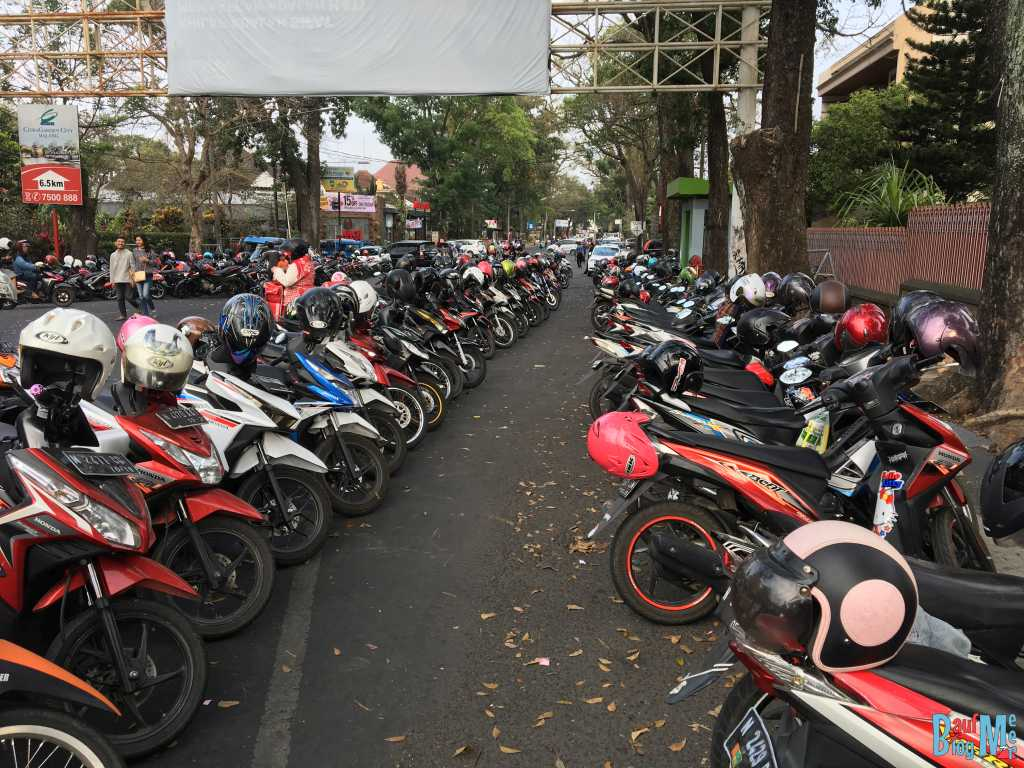 Scooter in Malang