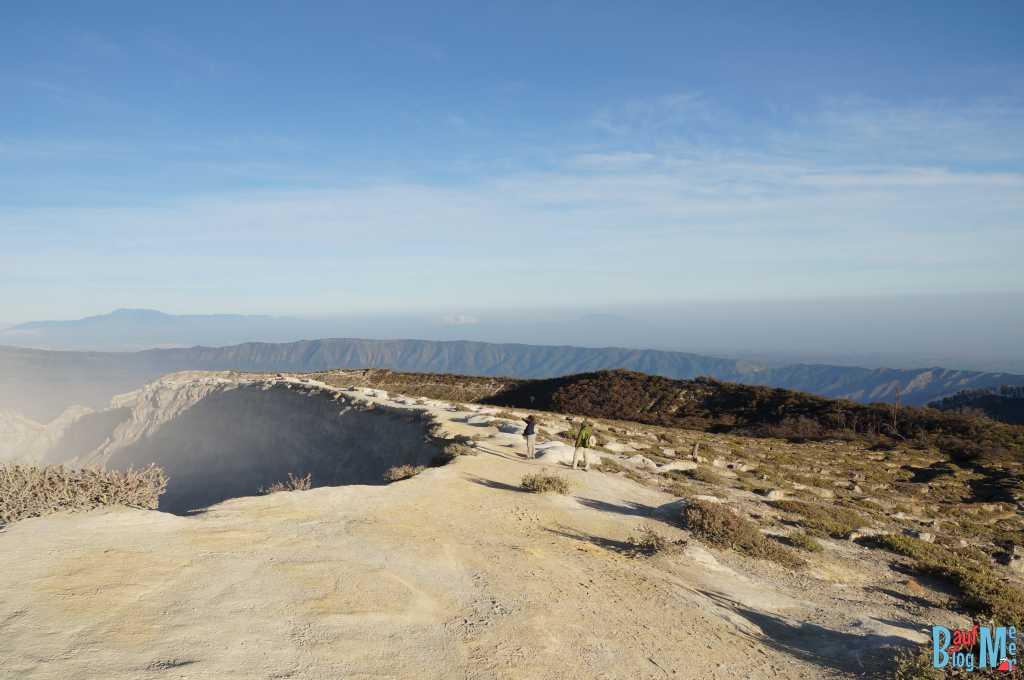 Kraterrand Ijen