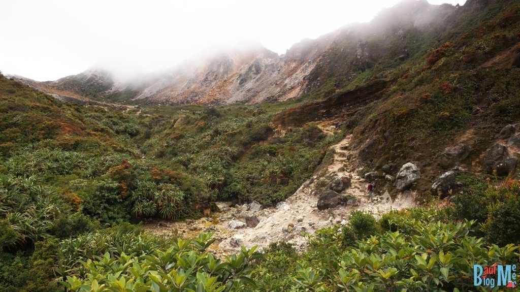 Weg rauf auf den Sibayak