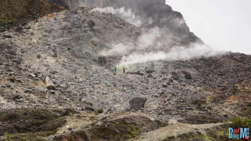 Fumarole auf dem Sibayak