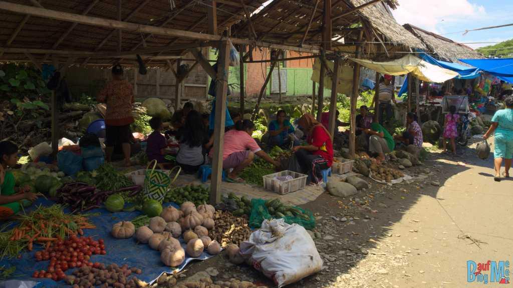 Markt in Bukit Lawang