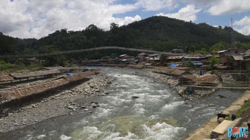 Bohorok Fluss in Bukit Lawang