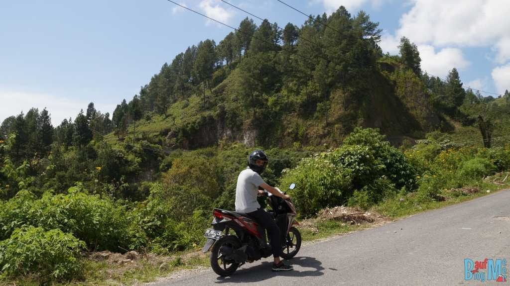 Auf dem Weg zum Viewpoint