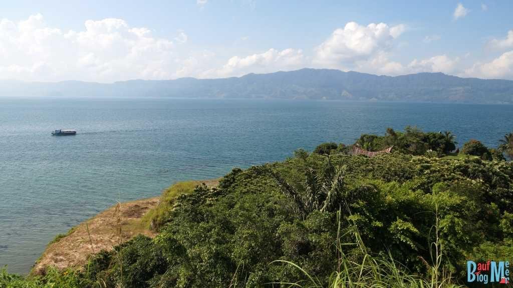 Schöne Aussichten unterwegs auf Samosir