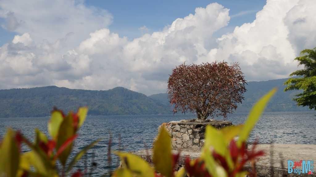 Unser Ausblick auf den Danau Toba