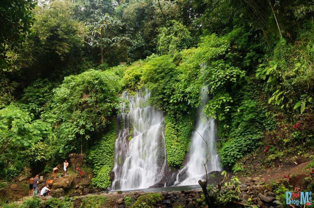 Wasserfall Kethegan bei Banyuwangi nach unserem Ausflug zum Ijen Krater