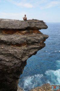 Klippen beim Broken Beach Nusa Penida