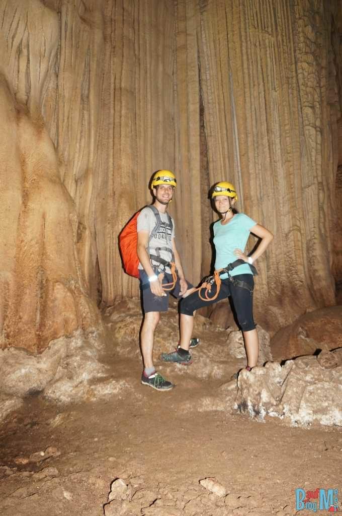 Wir zwei in der Racer Cave im Gunung Mulu Nationalpark