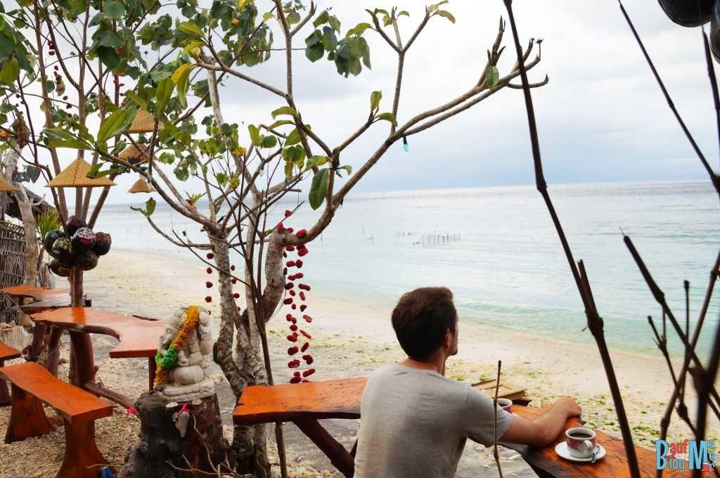 Restaurant im Norden von Nusa Penida