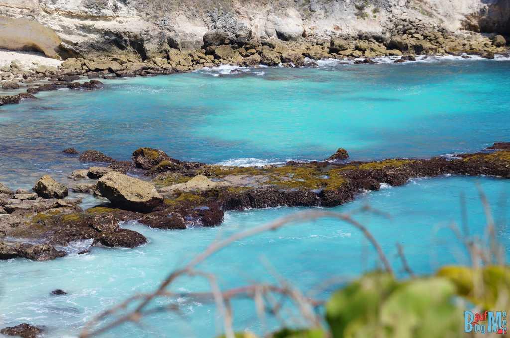 Blaue Lagune auf Ceningan