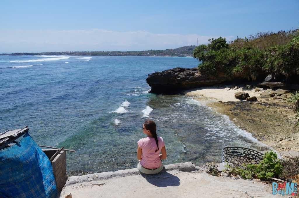 Strand beim Dream Point auf Ceningan