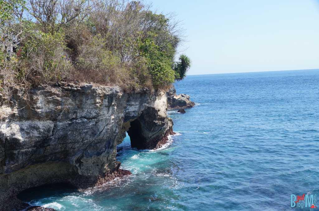 Ausblick auf Felsentor vom Mahana Point