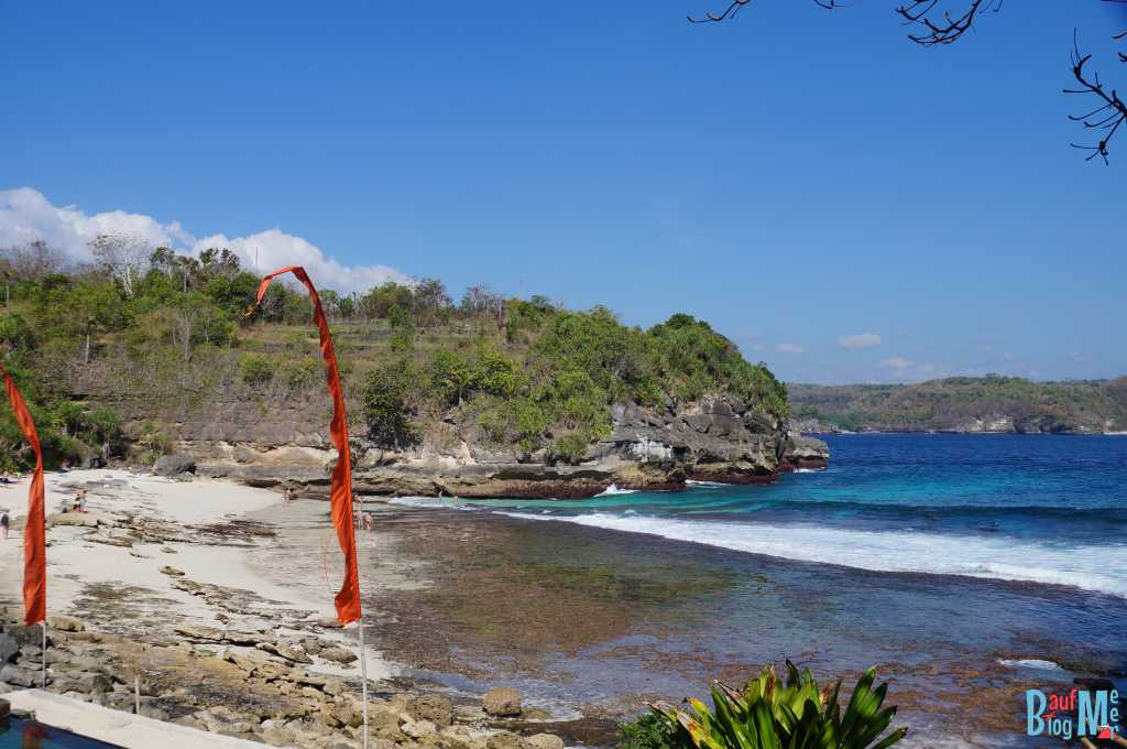 Secret Beach auf Ceningan