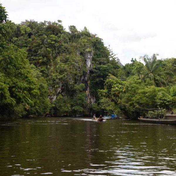 Anfahrt zu unserer Unterkunft B&B per Boot