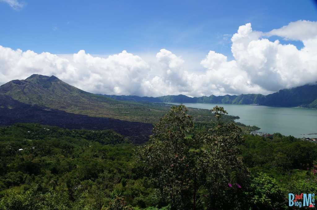 Bali ist: Vulkane. Gunung Batur und Danau Batur