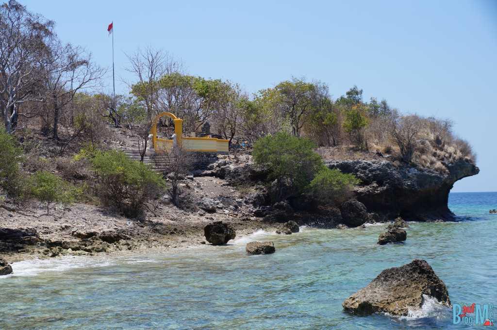 Tempel auf Insel Menjangan
