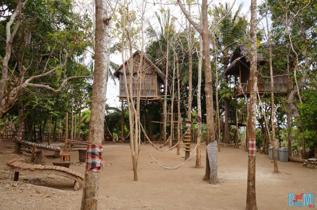 Baumhaus auf Nusa Penida: Hängematten im Nyuh Bengkok Treehouse