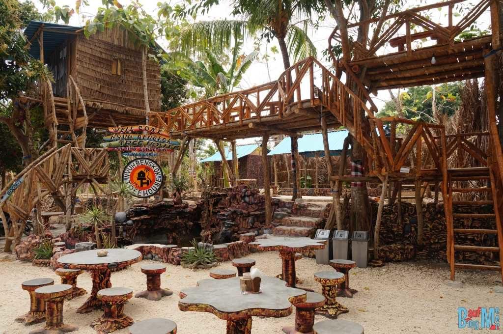 Baumhaus auf Nusa Penida:Lounge Area Nyuh Bengkok Tree House
