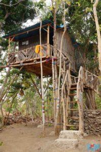 Baumhaus auf Nusa Penida:Unser Baumhaus im Nyuh Bengkok Treehouse