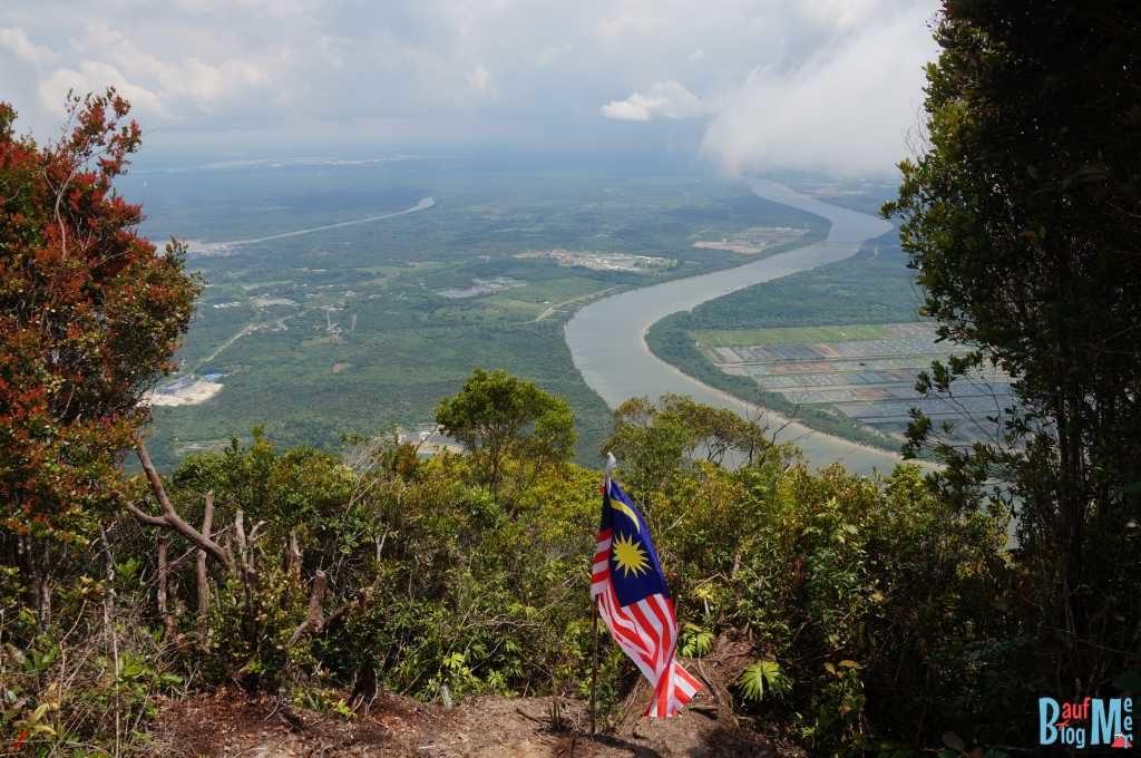 Ausblick vom Gunung Santubong