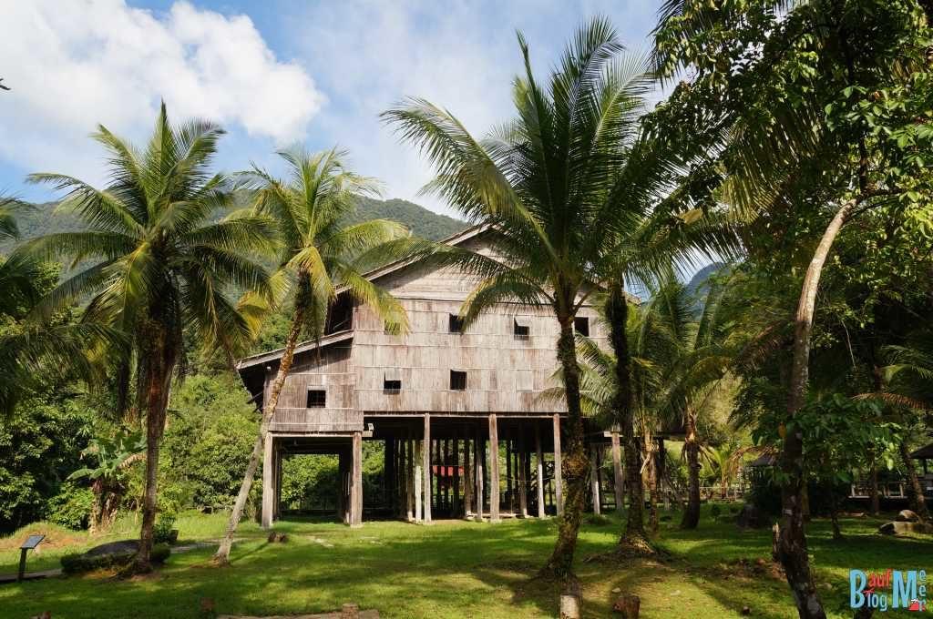 Melanau Haus Sarawak Village