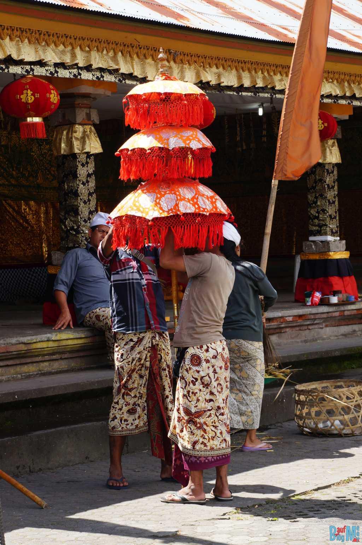 Bali ist: Typischer Balischirmi