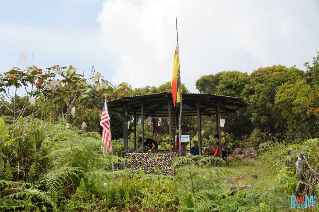 Unterstand auf dem Gunung Santubong
