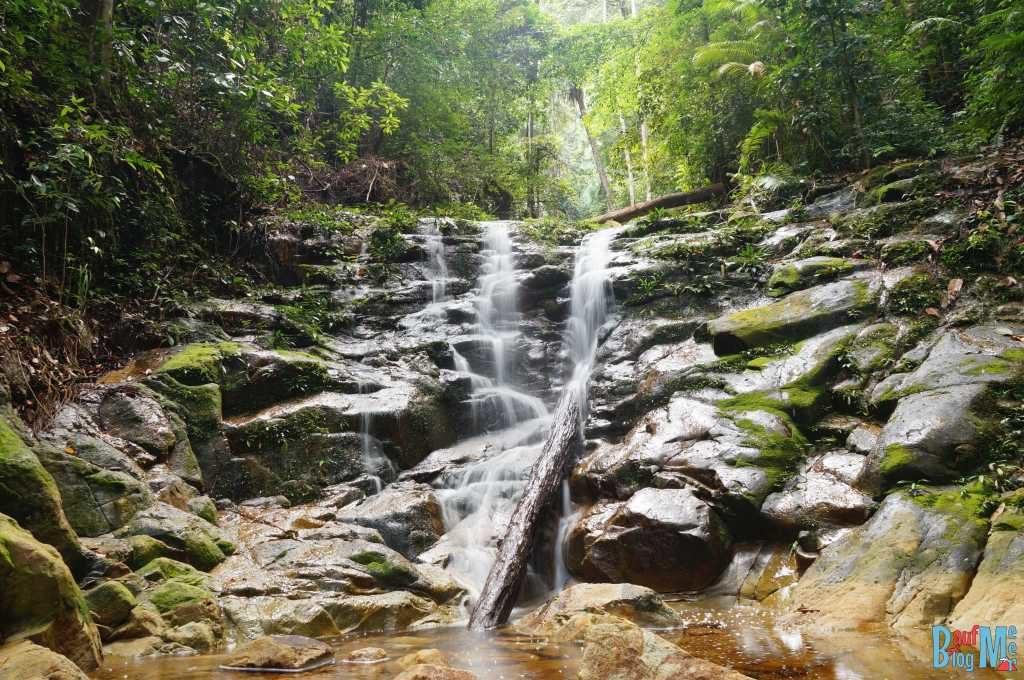 Wasserfall im Santubong Nationalpark