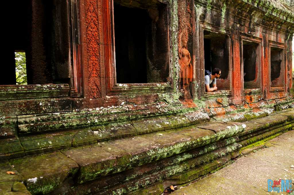 Gebäude am Ostausgang von Angkor Wat