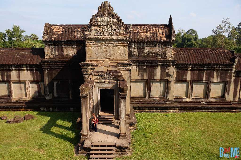 Tempelanlage Angkor Wat von Innen